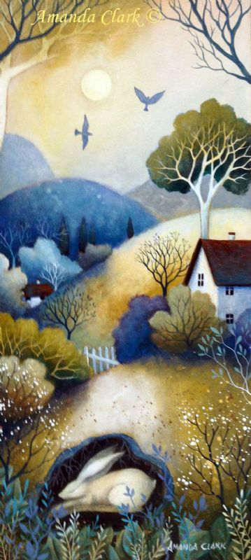 Calm of the Day - Amanda Clark Artist